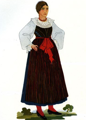 Итальянский костюм женский