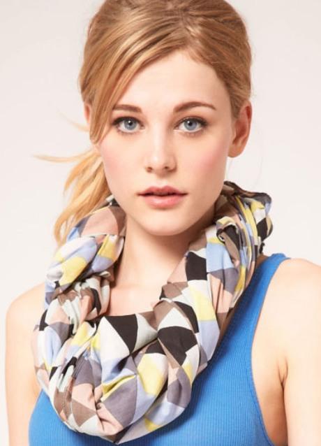 Как завязать шарф красиво? (фото)