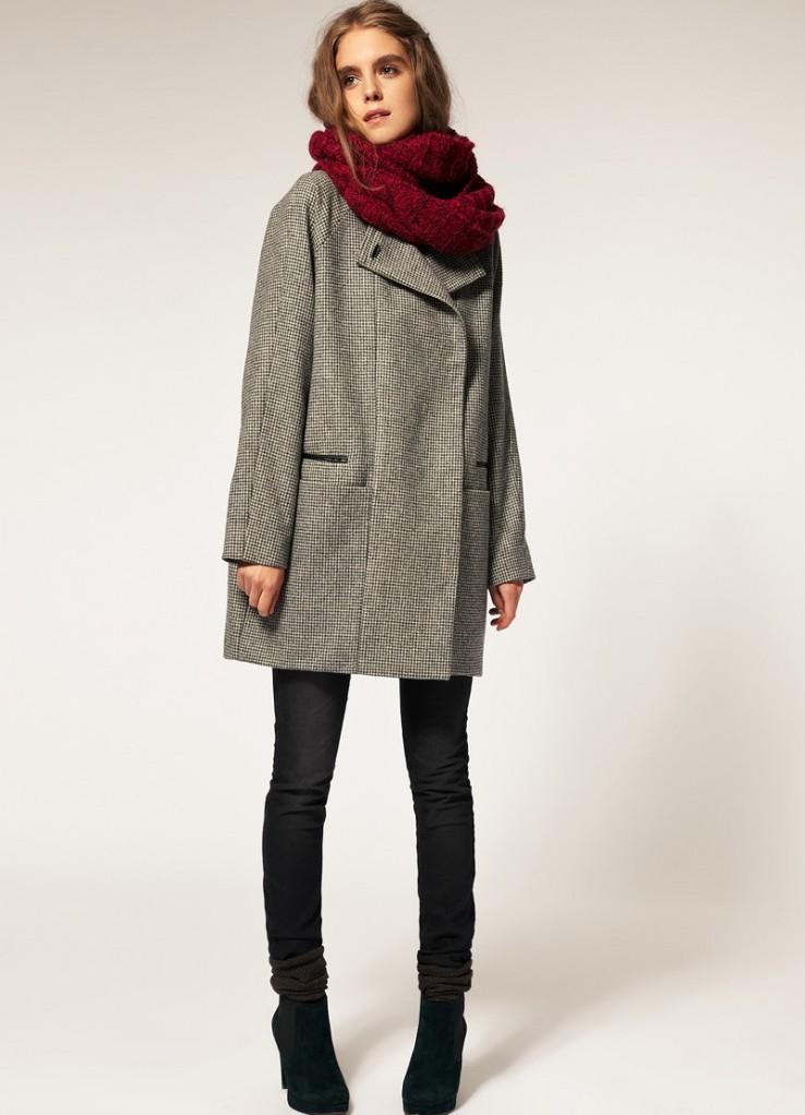 Связать зимний шарф