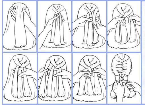 как научиться плести колосок 1