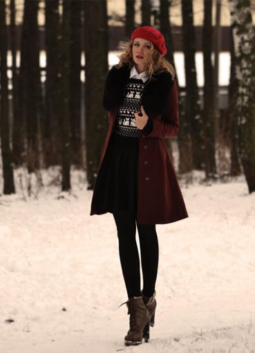Как одеваются зимой звезды картинки