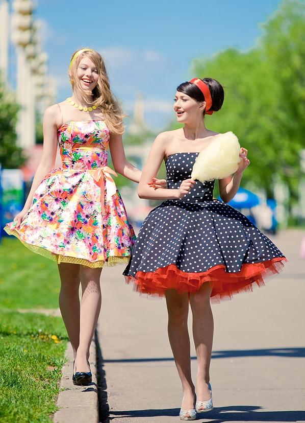 Платья в стиле стиляги