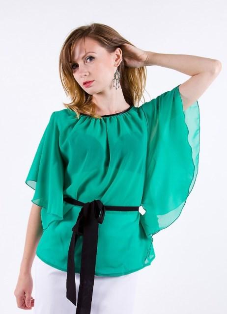 Сшить блузку из легкого 425