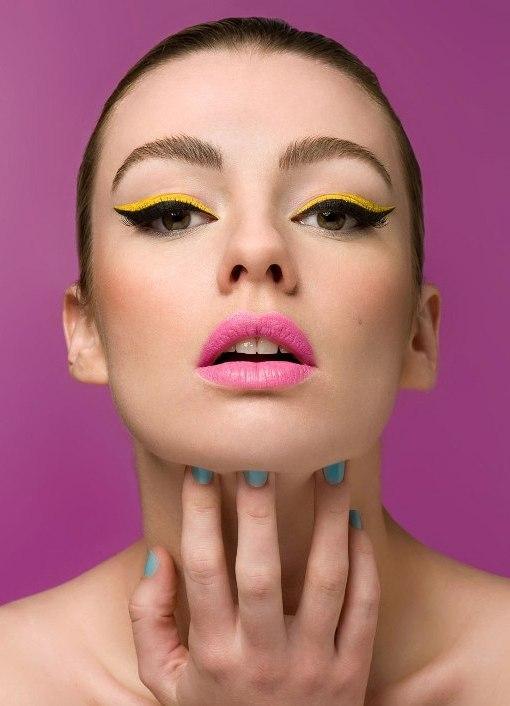 Как сделать макияж стиляги