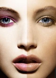 макияж делающий лицо старше