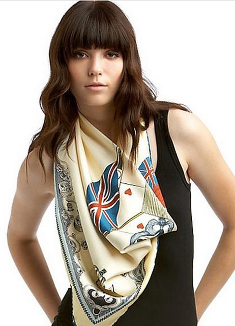 Как стильно завязывать платок на шее