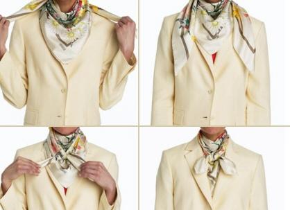 как завязать платок на шее 4
