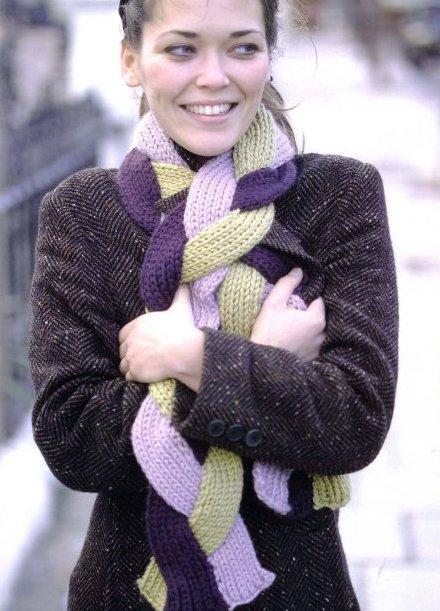 Женские вязаные шарфы и шарфики ручной работы аксессуары