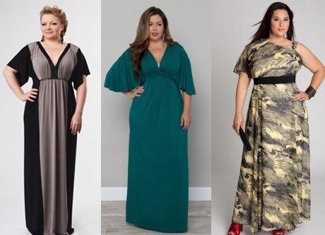Какое платье выбрать полным девушкам