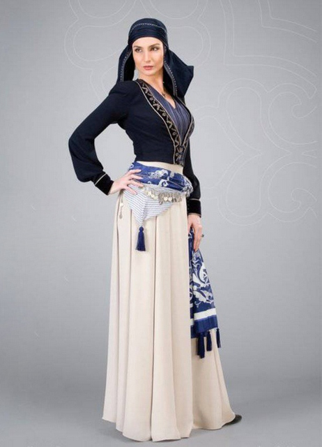 Платья в кавказском стилем
