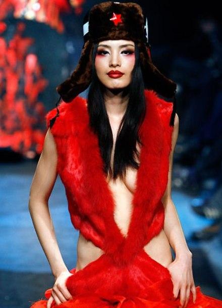 Китайская модная одежда
