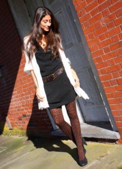 Черные чулочки черное платье фото