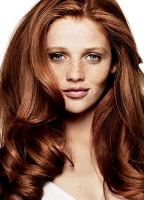Коричневые волосы 3