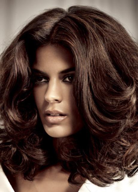 Как называются коричневые волосы