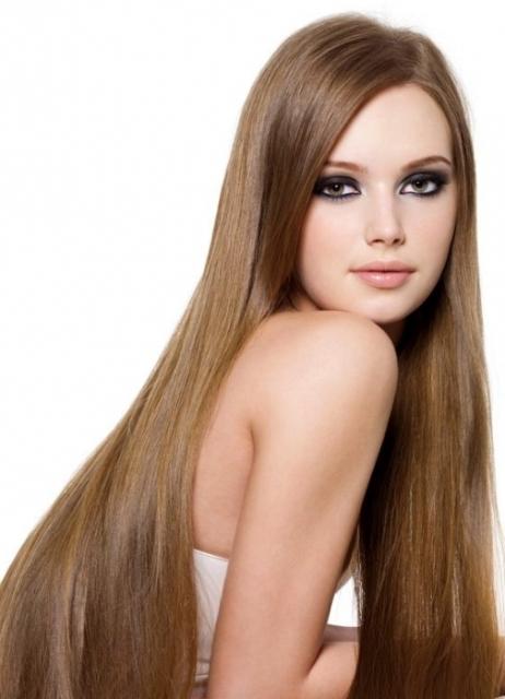 фото девушки с коричневыми волосами