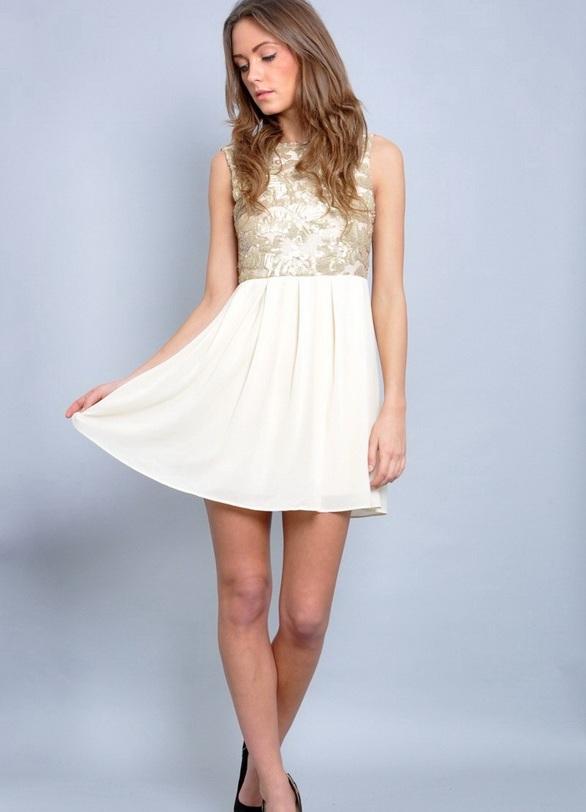 короткие вечерние платья 2014 2
