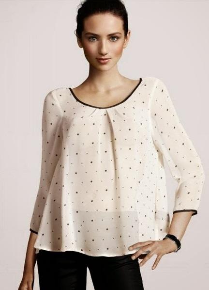 Красивые модели блузок