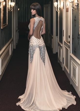 Вечерние платья красивая спина