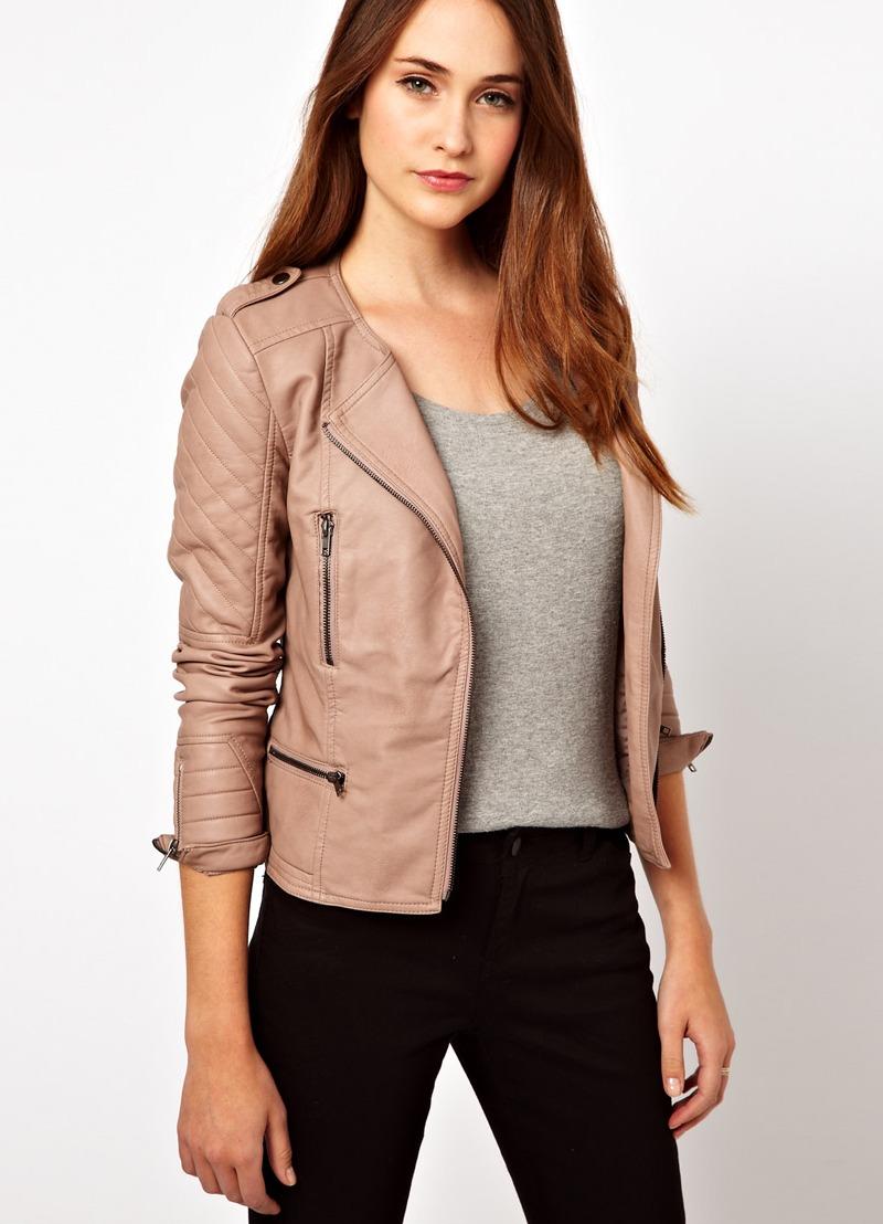 Куртки из искусственной кожи