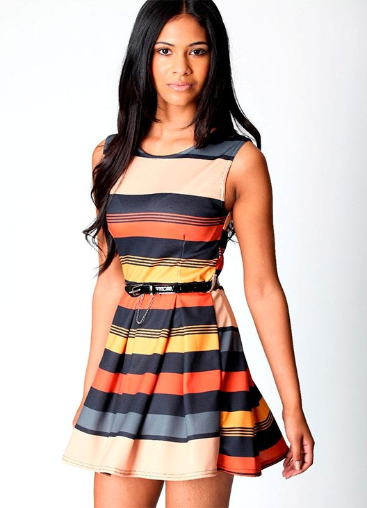Фото коротких ярких летних платьев