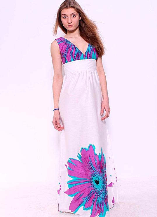 Модные сарафаны 2012 лето