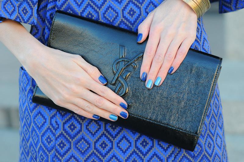 Какой цвет лака подойдет к синему платью? Мягкая пастель и ахроматическая бесконечность