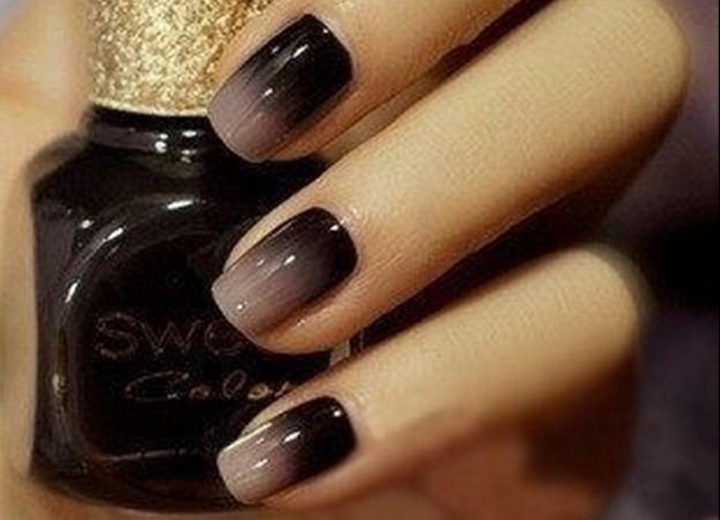 ногти в стиле омбре