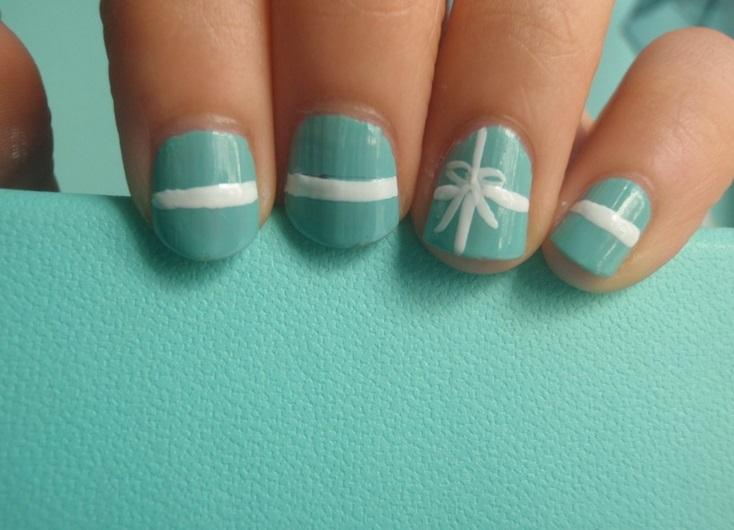 Дизайн тиффани ногти
