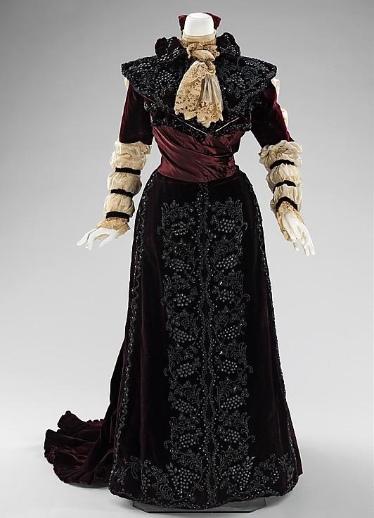 Бальные платья 19 века
