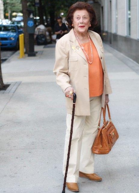 Мода пожилым женщинам платья
