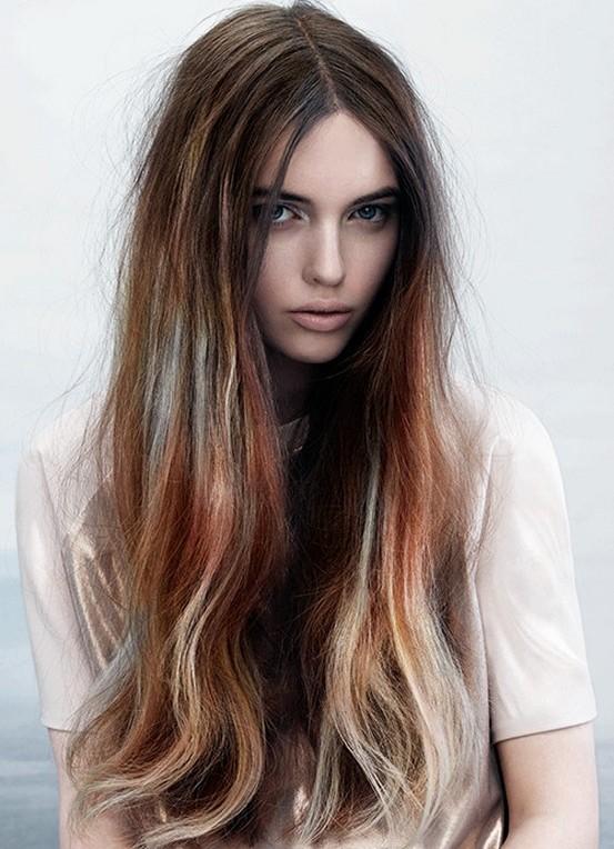 Как покрасить волосы модные