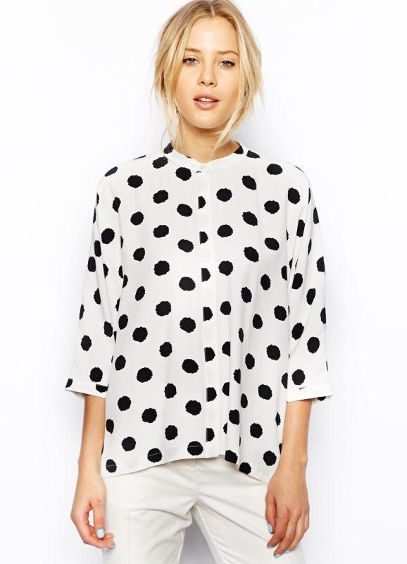 Самые модные блузки 2014
