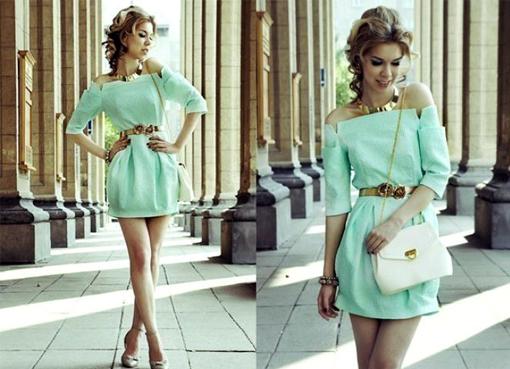 Картинки короткие модные платья