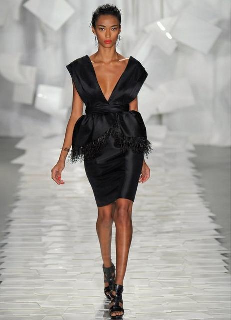 Модные модели платьев 2014 3
