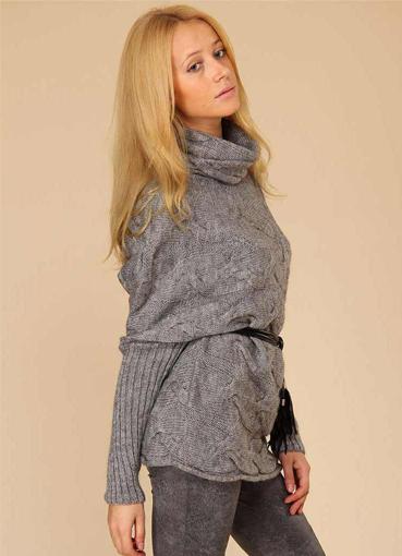Модные вязаные свитера 2014