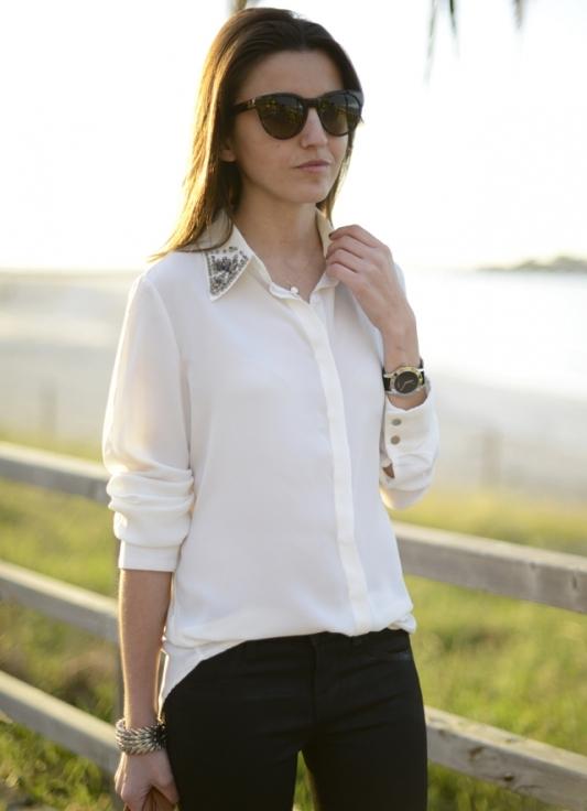 Купить Красивую Блузку Со Стразами