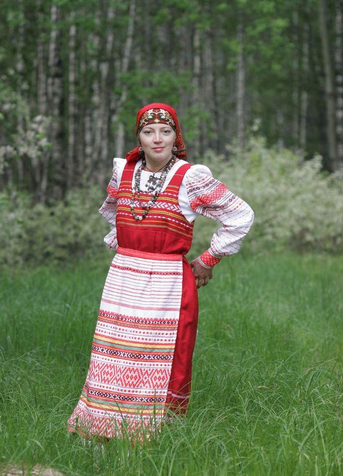 Русская Блузка