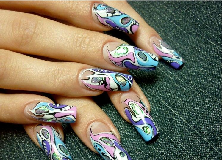 Новинки рисование ногтей