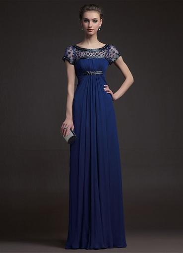 Модели новых вечерних платьев