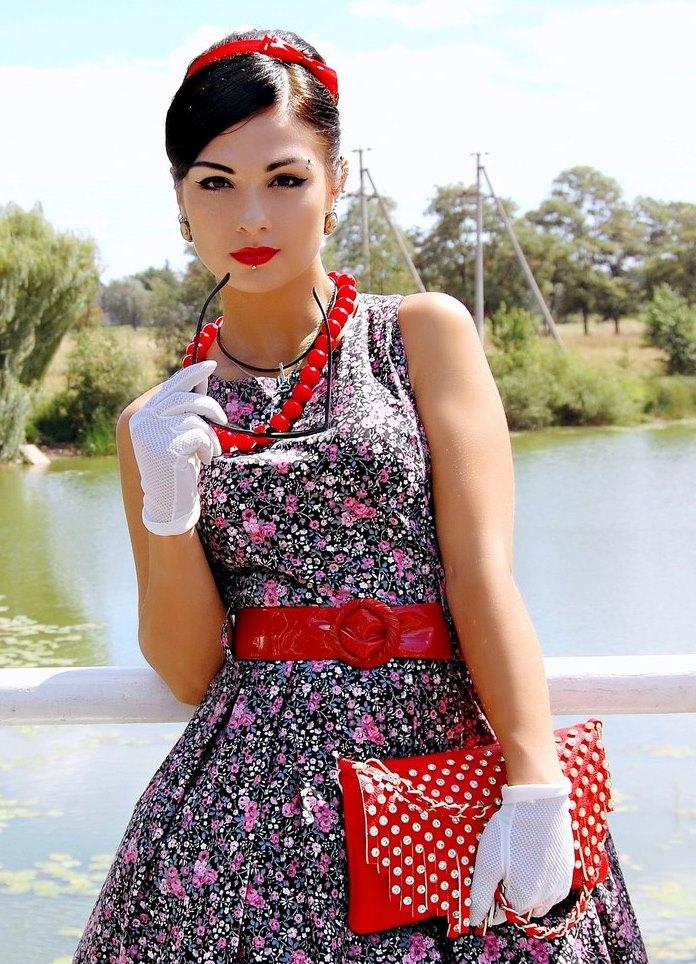 стиляги одежда прическа