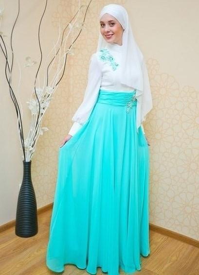 Красивые платья мусульманок фото