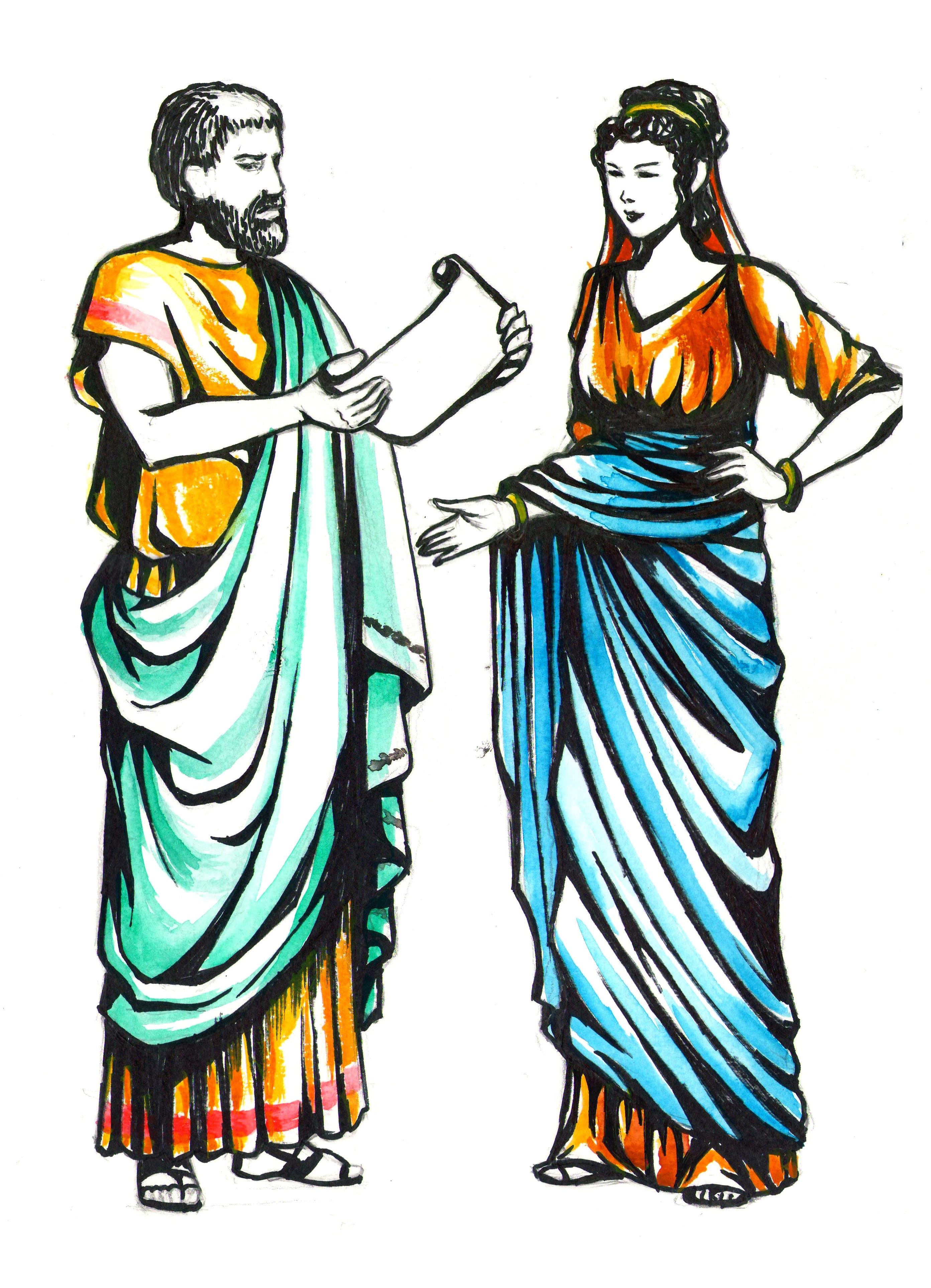 Ancient roman fashion and beauty Women s Clothes in Ancient Rome Owlcation