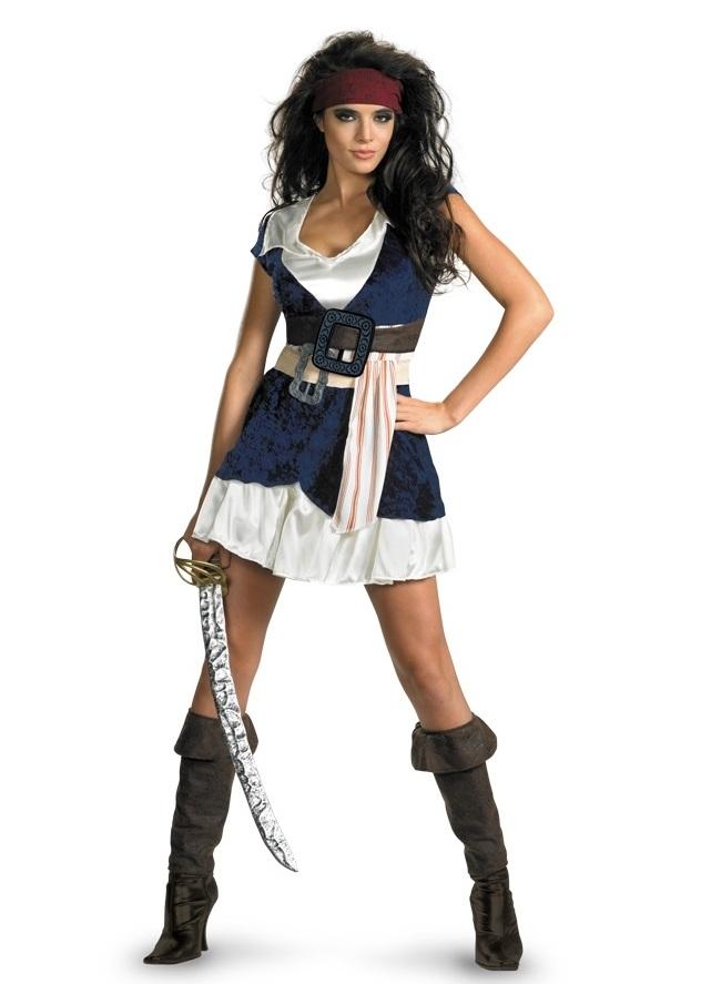 Образ пирата для девушки