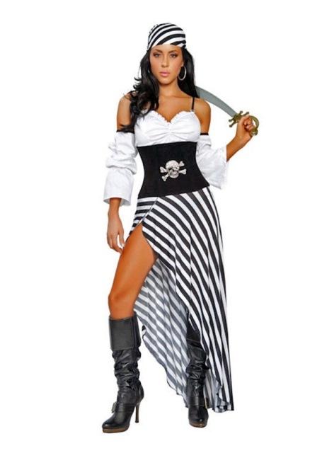 Костюм для пиратской вечеринки для девушек своими руками