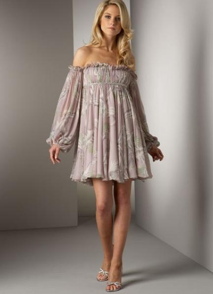 какие расцветки платья модны в г