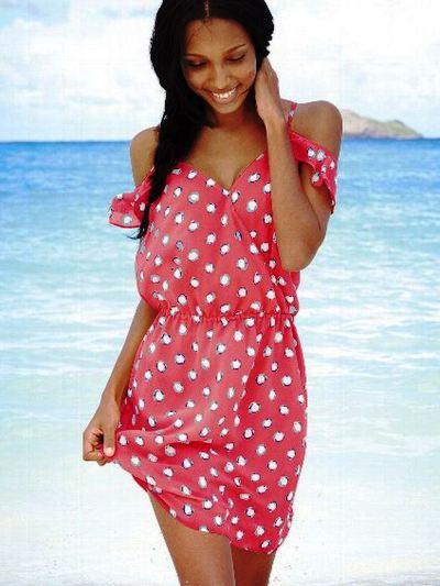 платье для отдыха на море фото