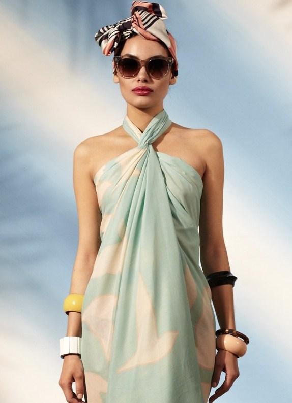 Накидка платье для пляжа