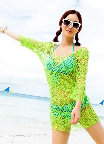 Платья сетки для пляжа