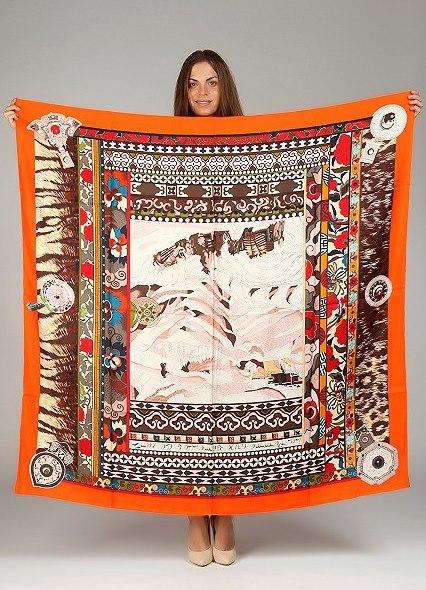 It-вещь: шелковый платок, hermes