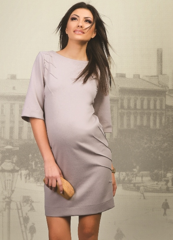 Платья из трикотажа для беременных